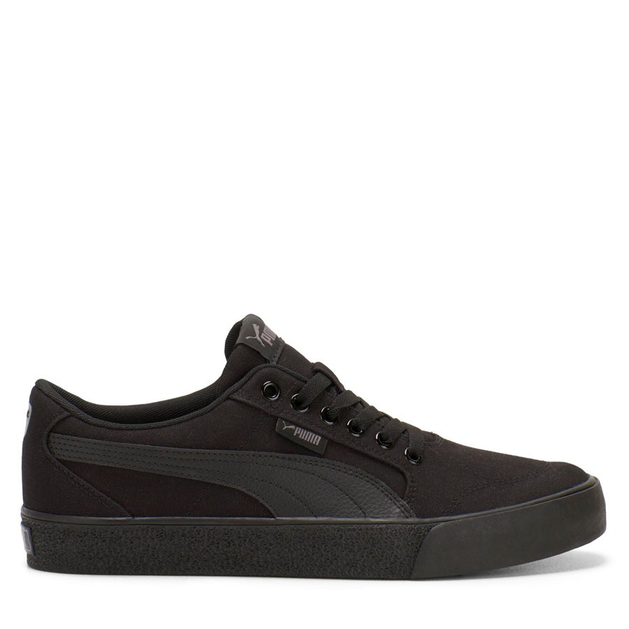 Shoewarehouse C Skate Vulc Black/Black