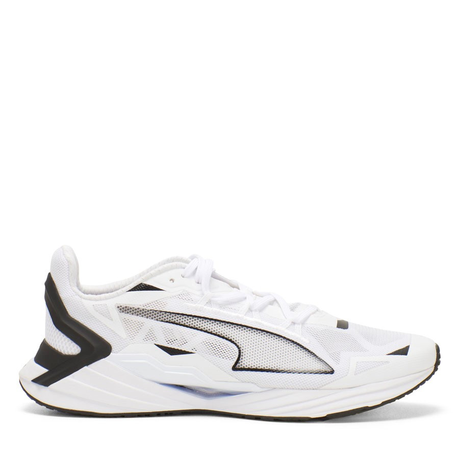 Shoewarehouse Ultraride White/Black