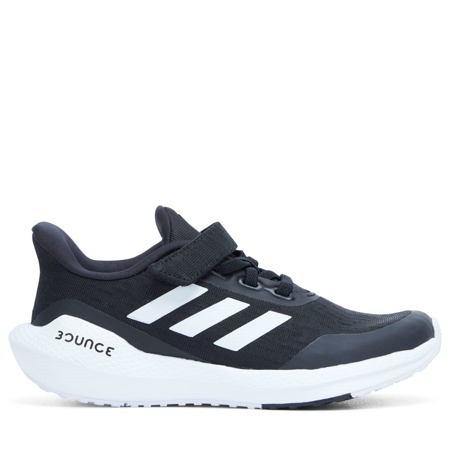 Shoe Warehouse Eq21 Run K Ps B Black/White/Black
