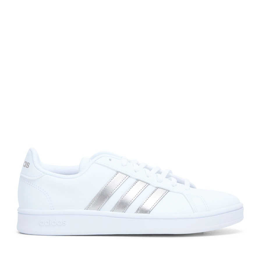 Shoe Warehouse Grand Court Base White/Metal