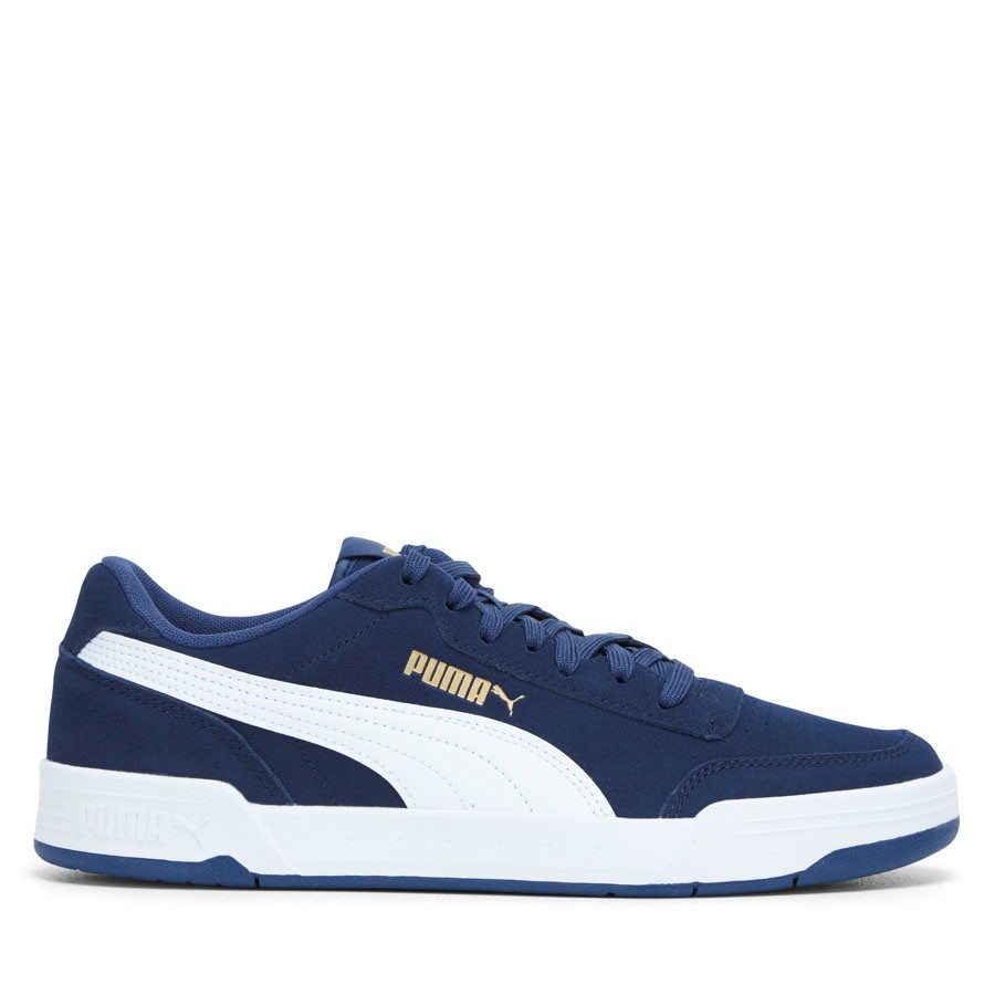 Shoewarehouse Caracal Suede Navy/White