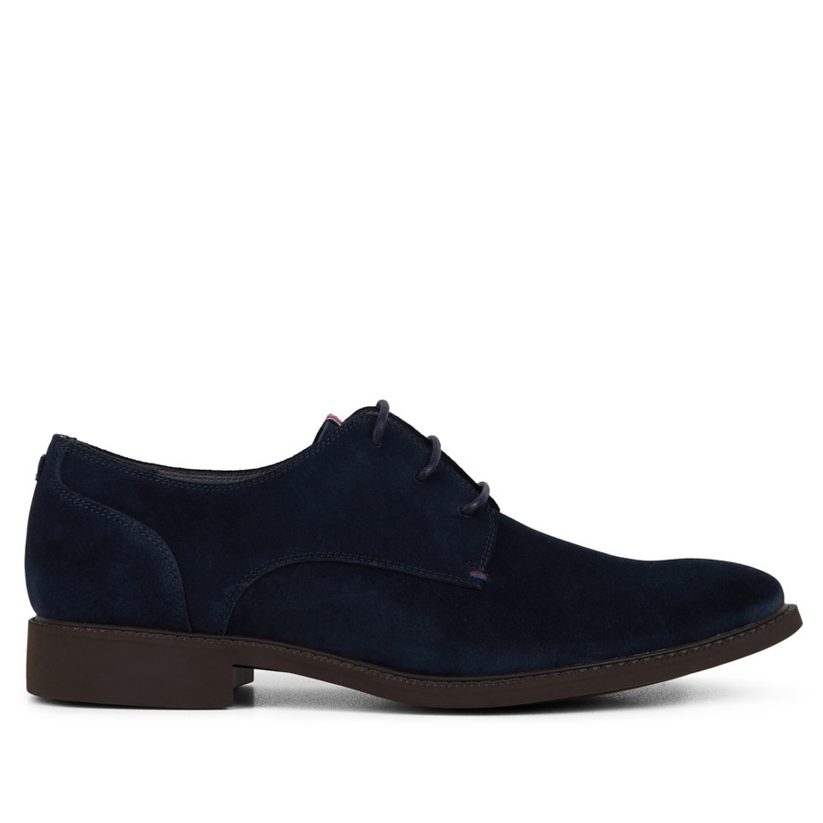 Shoe Warehouse Harvest Navy Suede