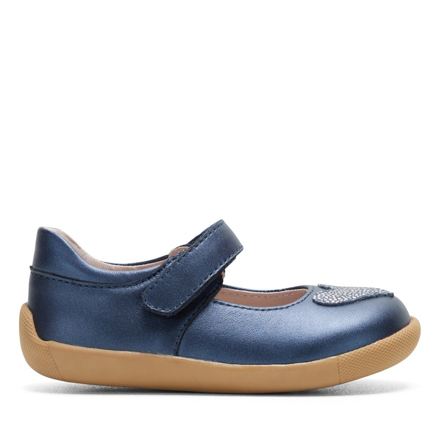 Shoe Warehouse Mindy Navy Shimmer