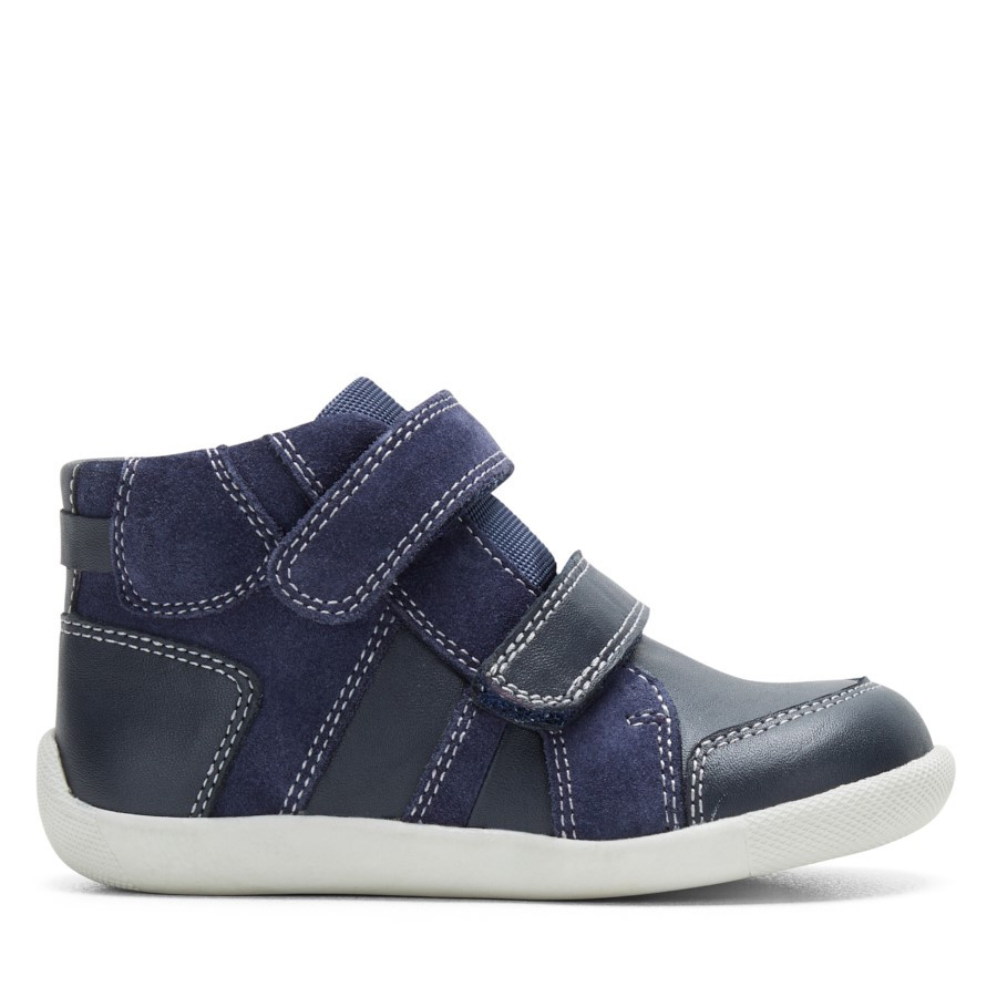Shoewarehouse Liam Boot B Navy
