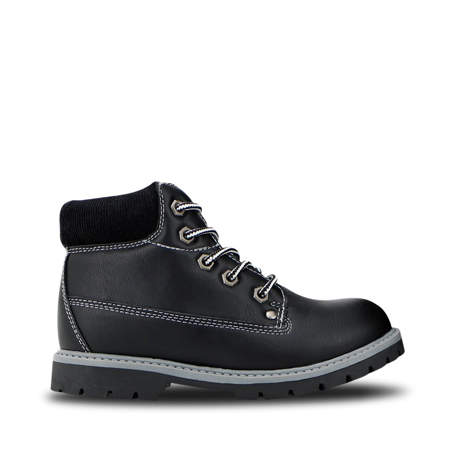 Shoewarehouse Billy B Black/Black
