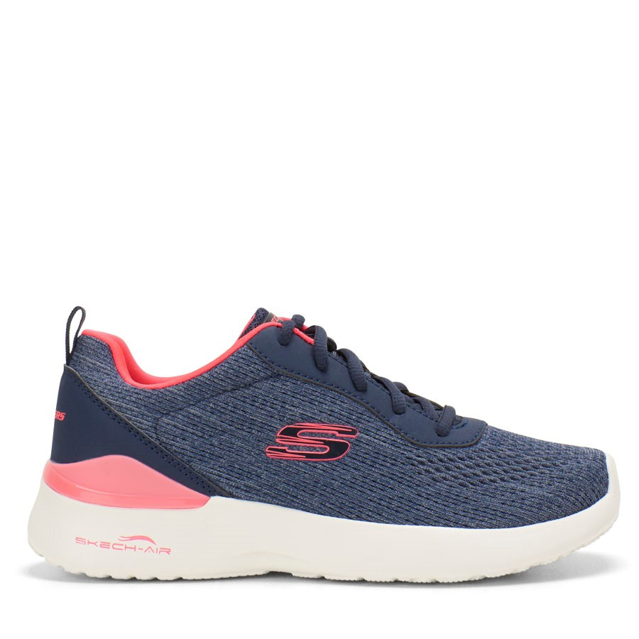 Shoe Warehouse Air Dynamight Top Prize Navy/Coral