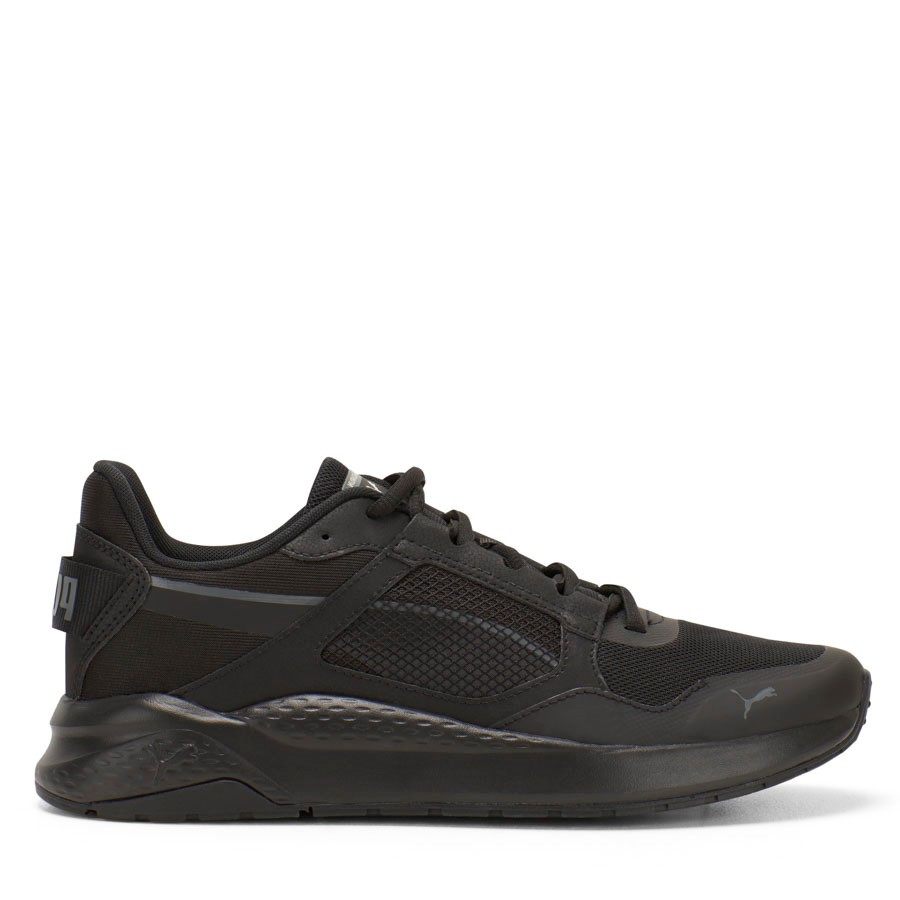 Shoewarehouse Anzarun Grid Black/Black