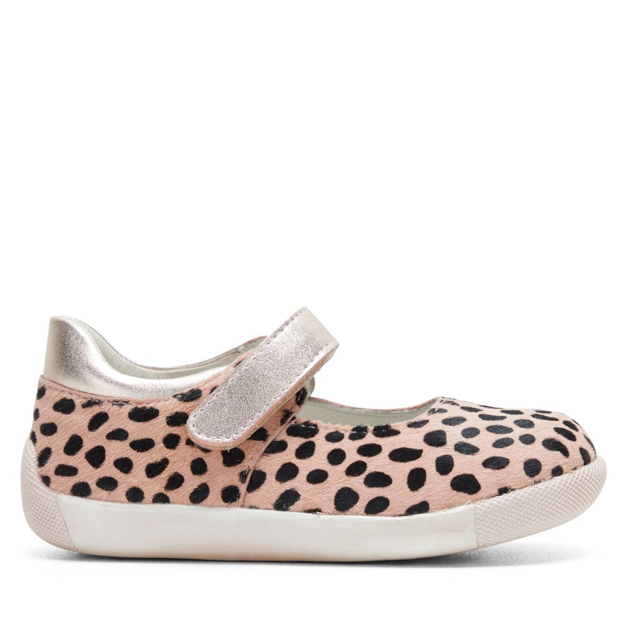 Shoe Warehouse Lara Pink Leopard