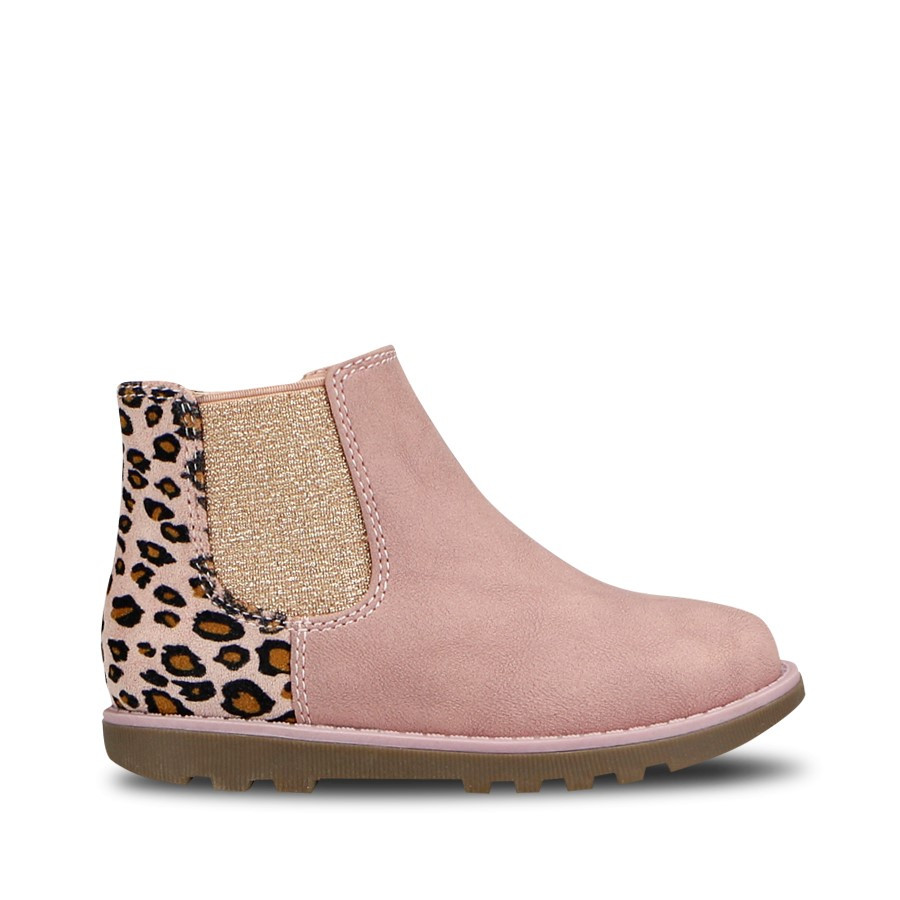 Shoewarehouse Pepper Pink Leopard