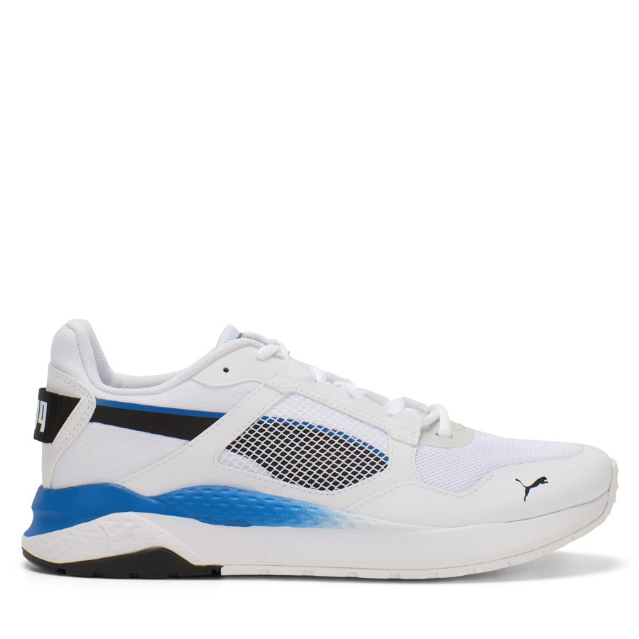 Shoewarehouse Anzarun Grid White/Black