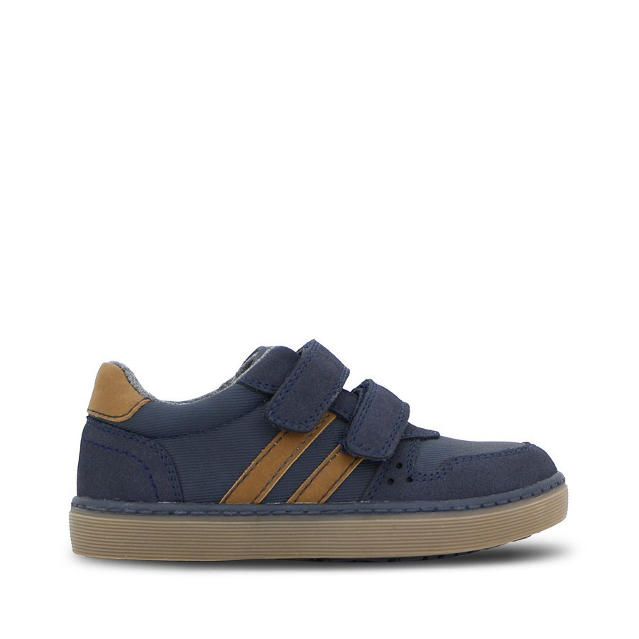 Shoewarehouse Drazic Navy/Tan