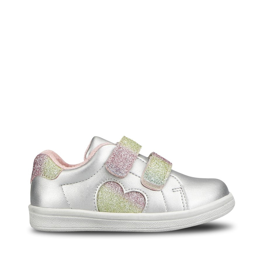 Shoewarehouse Sprinkle Heart Silver Multi