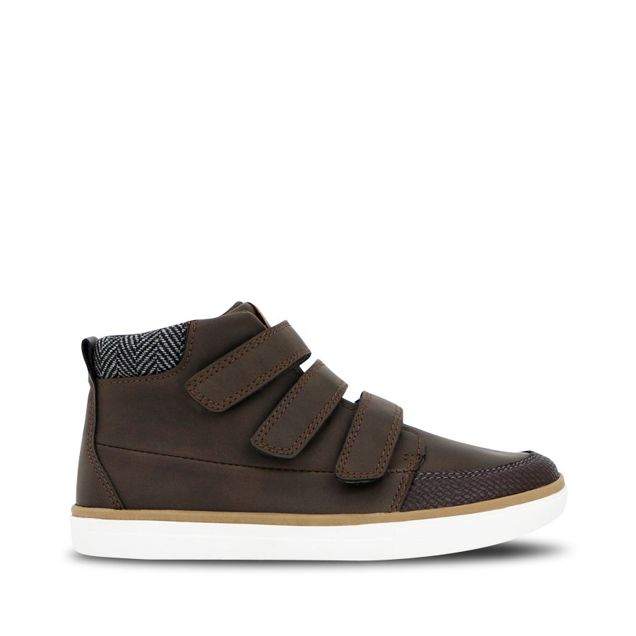 Shoewarehouse Peyton Mid Brown