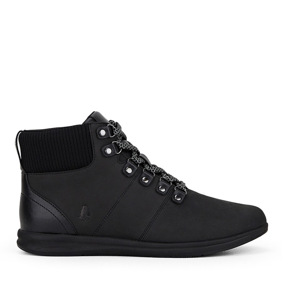 Shoewarehouse Zephyr Black Nubuck