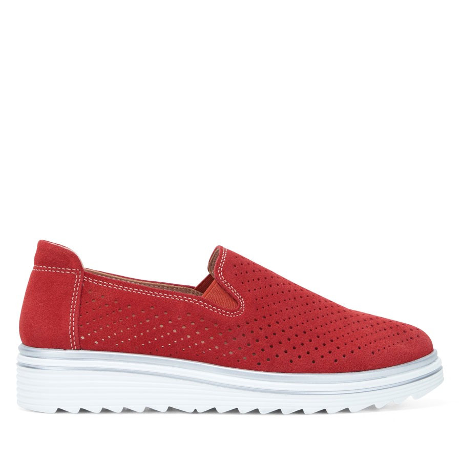 Shoewarehouse Crista Red