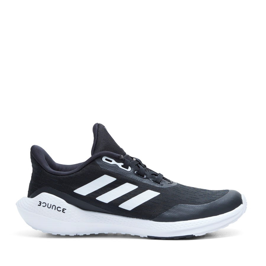 Shoewarehouse Eq21 Run Gs B Black/White/Black