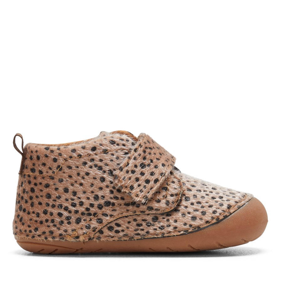 Shoewarehouse Cruze Girls Leopard