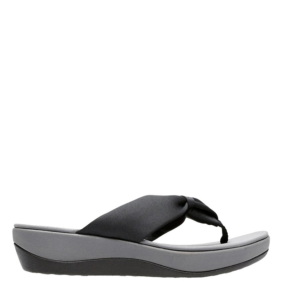 Shoewarehouse Arla Glison Black Fabric