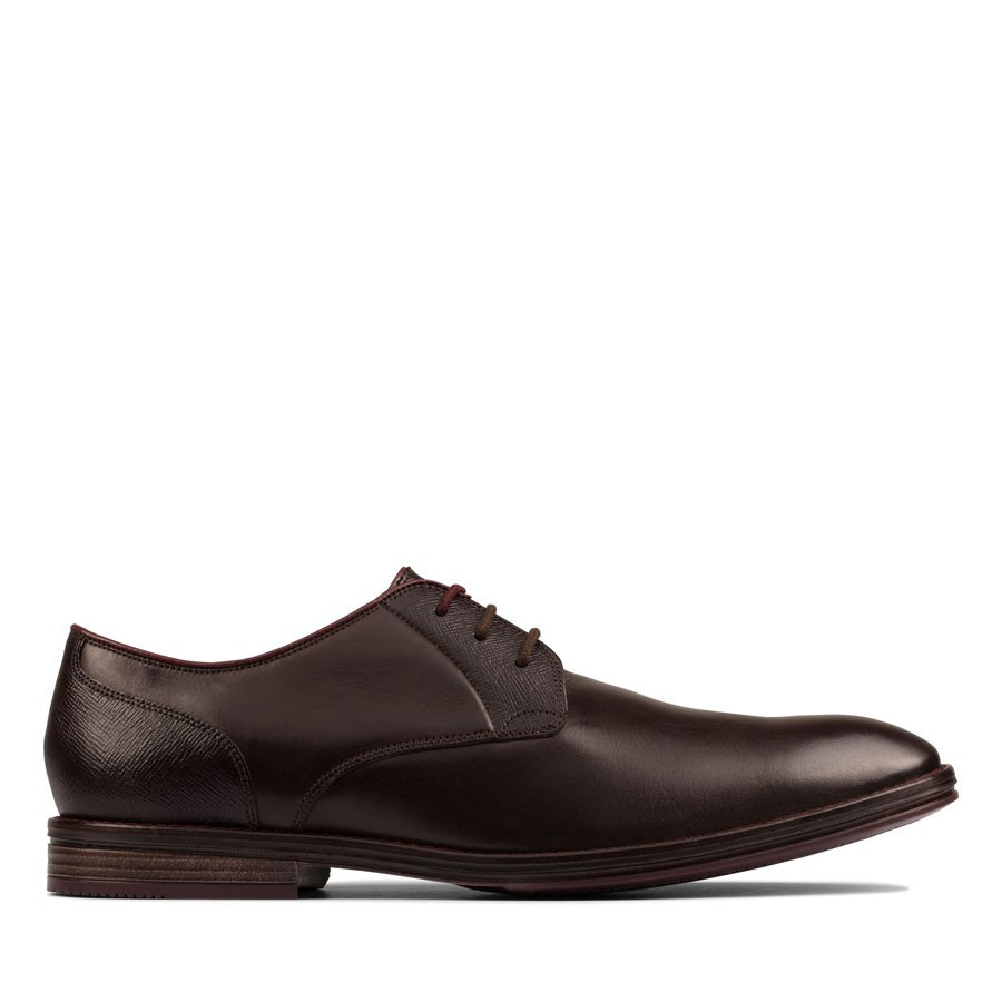Shoewarehouse Citistride Lace Dark Brown