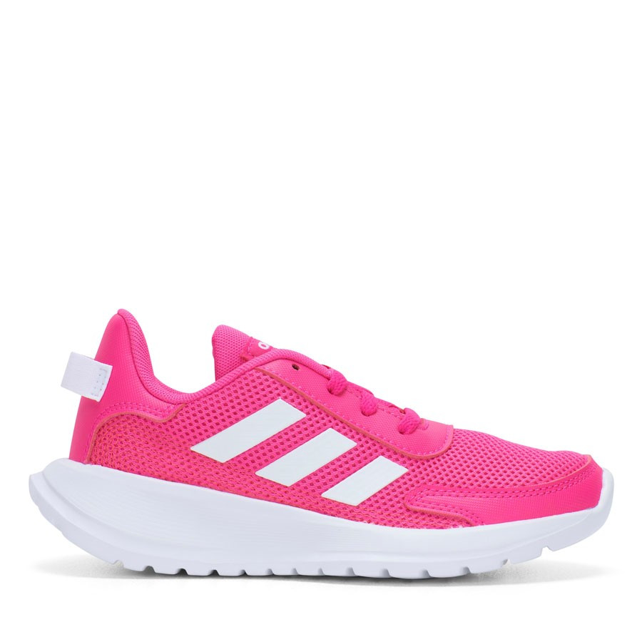 Shoewarehouse Tensaur Run K Girl Pink/White/Grey