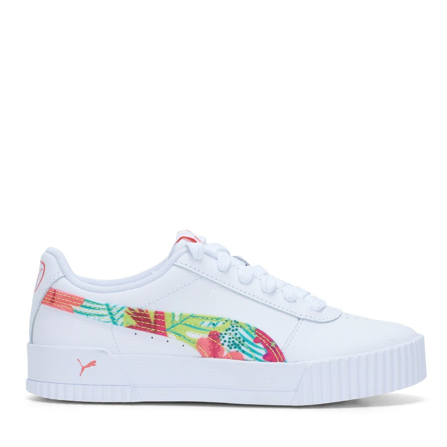 Shoewarehouse Carina L Tropical Punch Fs Jun White/Peach