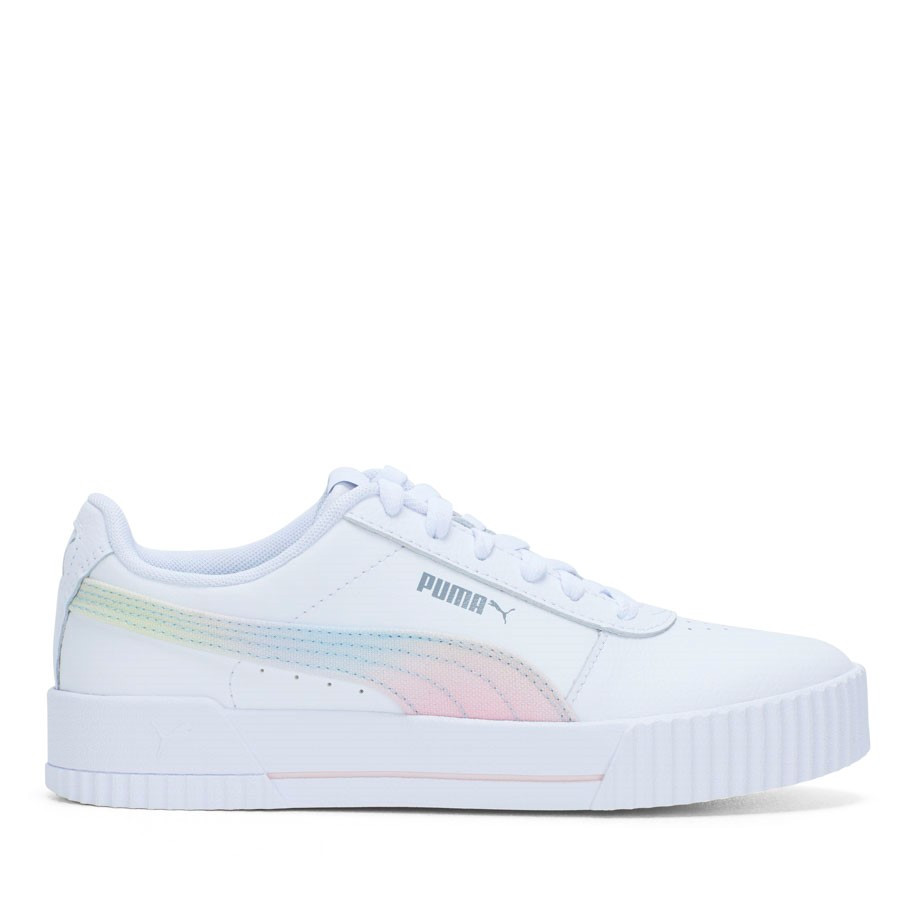 Shoewarehouse Carina L Ombre White/Silver