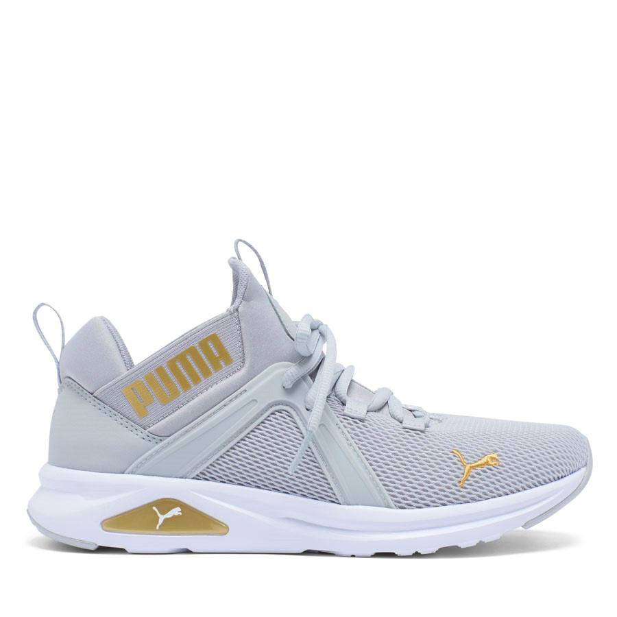 Shoewarehouse Enzo 2 Grey/Gold