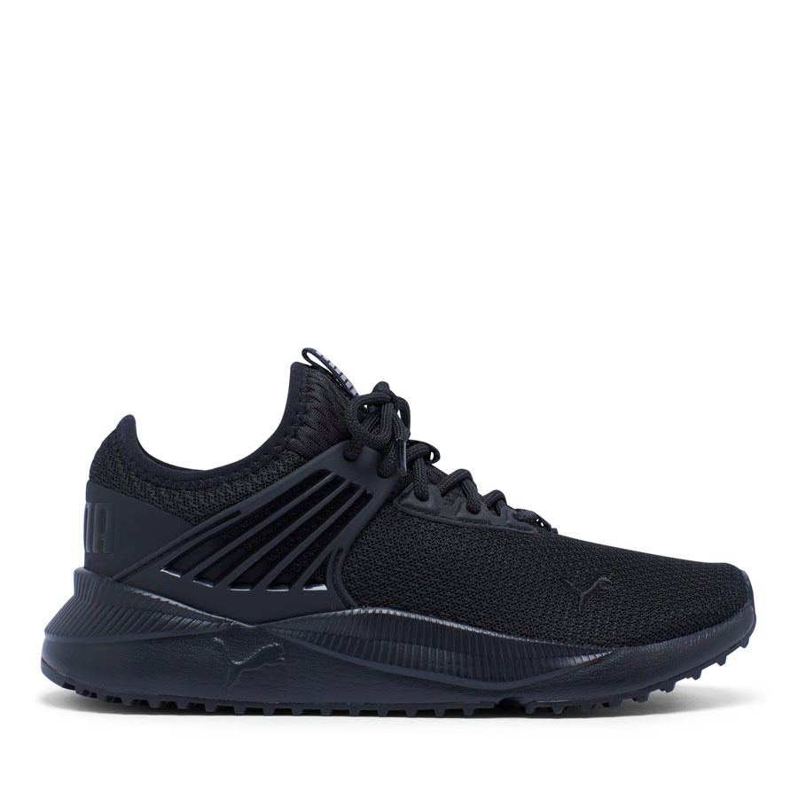 Shoewarehouse Pacer Future L Youth Black/White