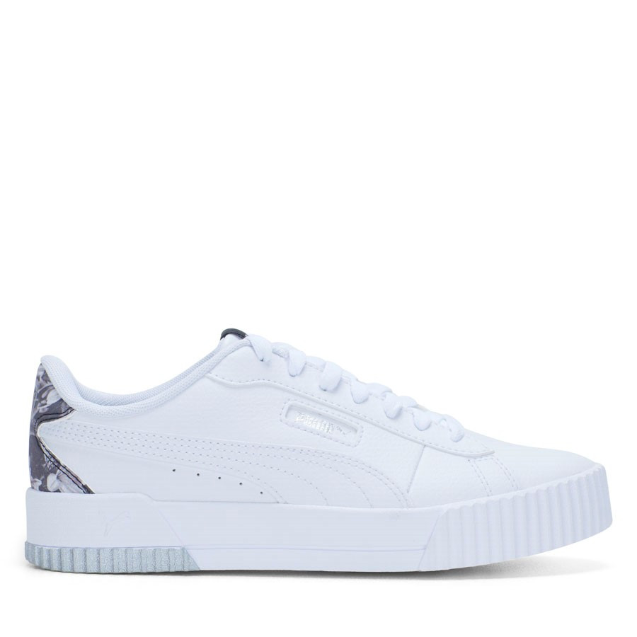 Shoewarehouse Carina Crew Untamed Su White/White