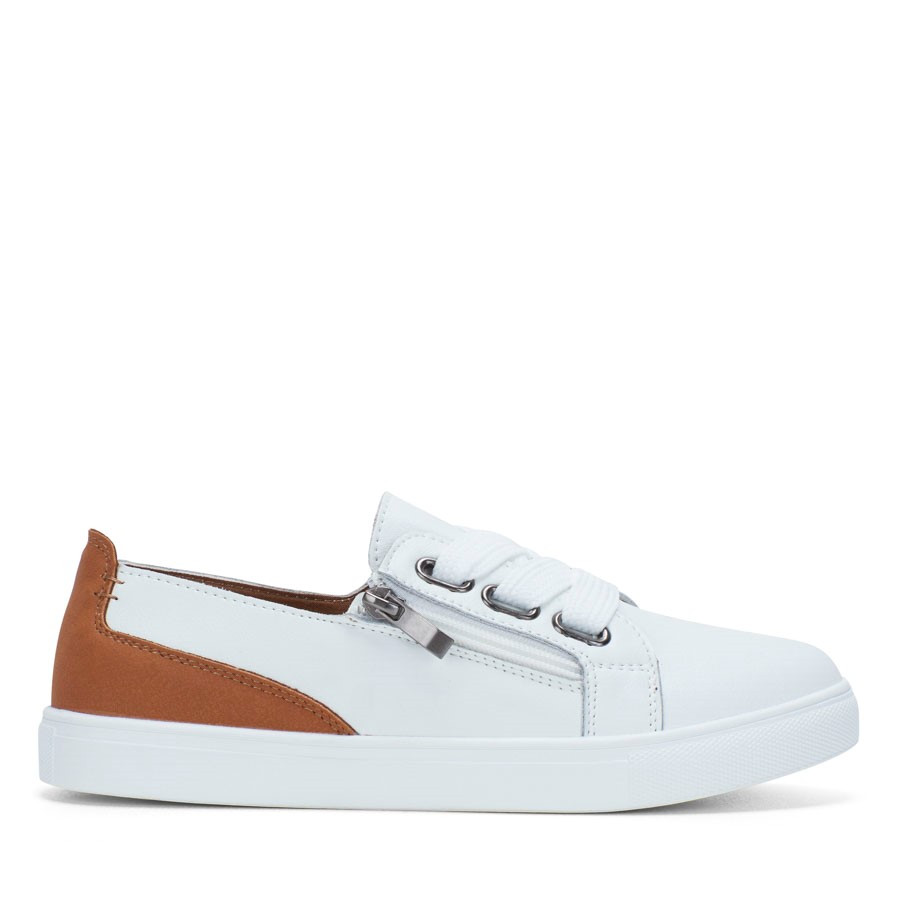 Shoewarehouse Clover White