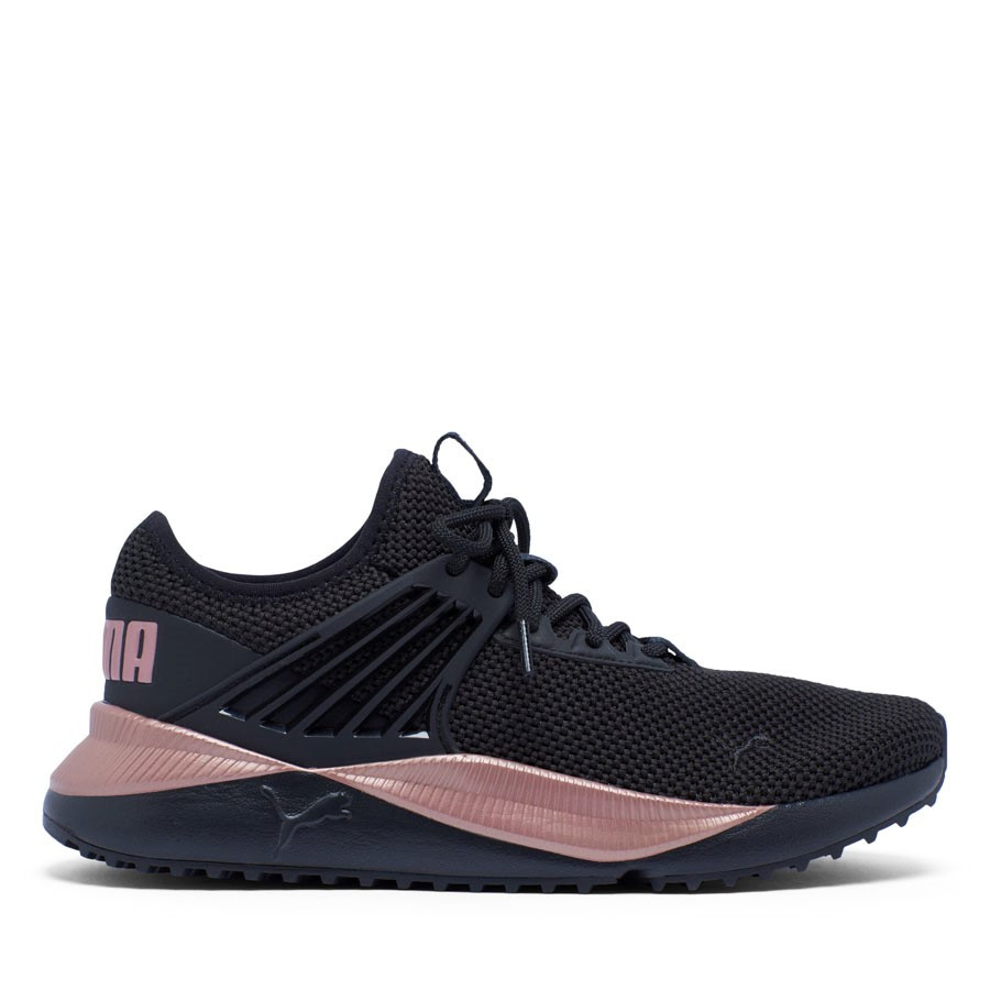 Shoewarehouse Future Lux Womens Black/Gold