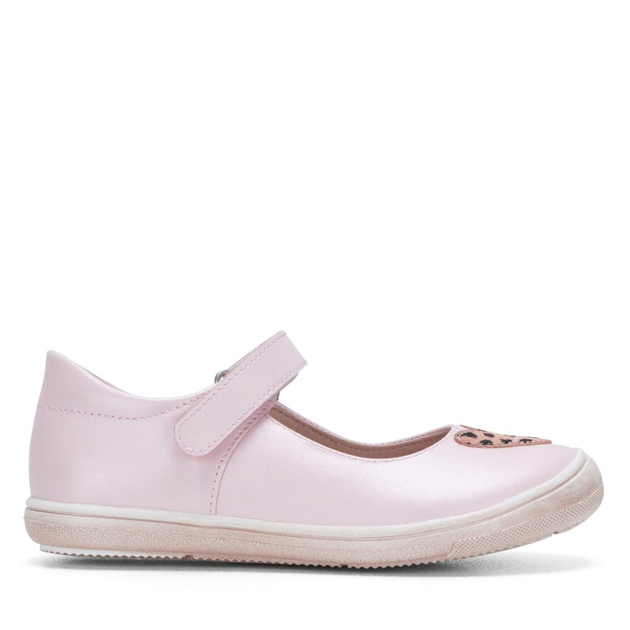 Shoewarehouse Marina Mary Jane Pink Metallic
