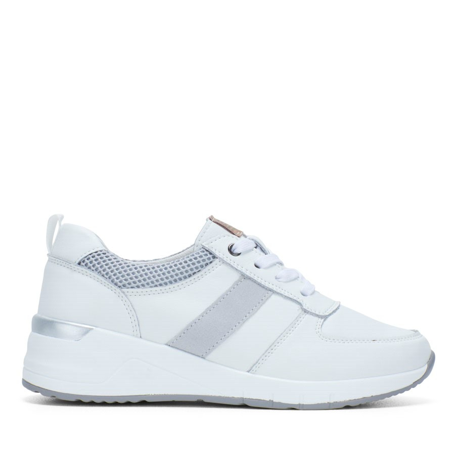 Shoewarehouse Santos White