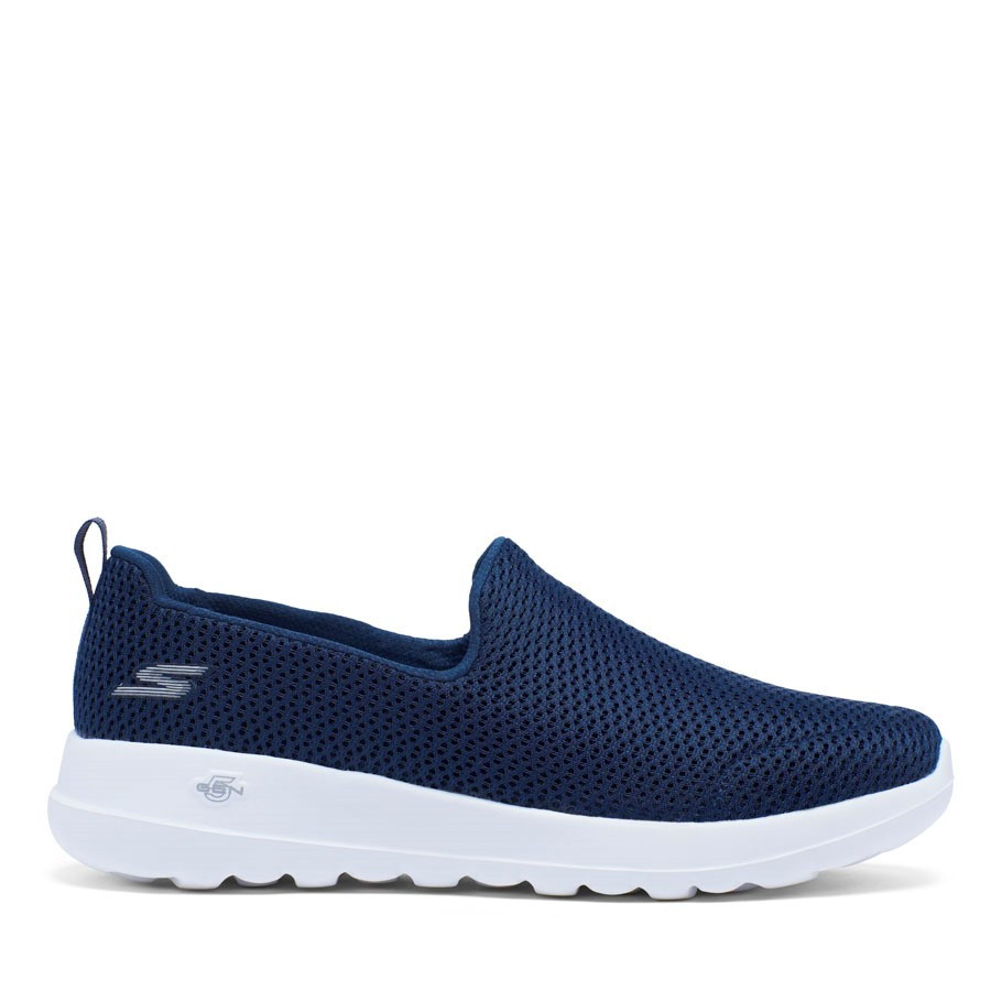 Shoewarehouse Go Walk Joy Navy/White