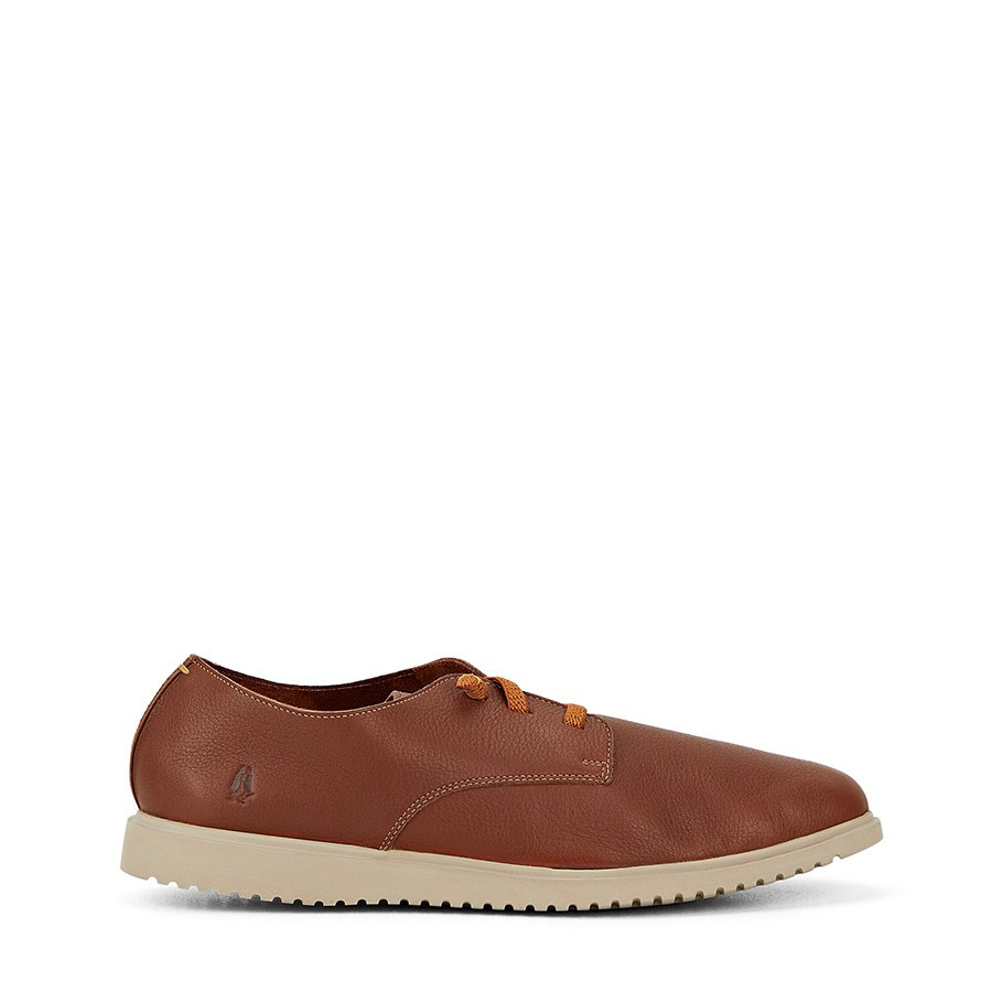 Shoewarehouse The Everyday Laceup M Cognac Leather