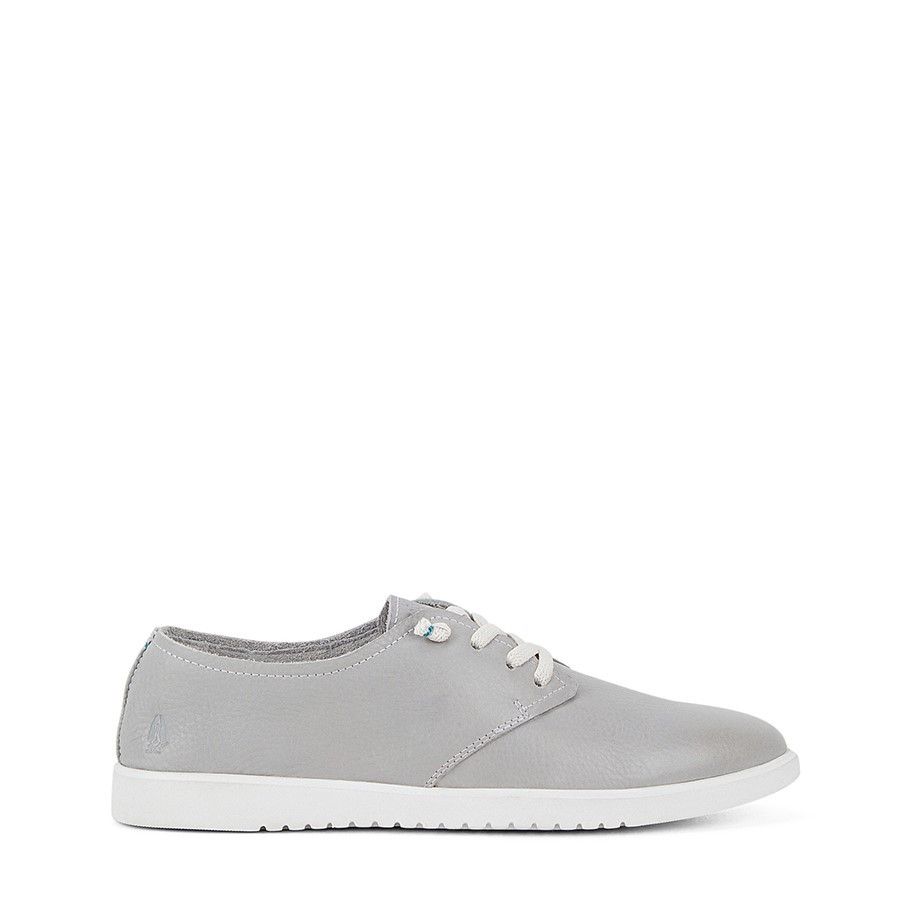Shoewarehouse The Everyday Laceup W Vapor Grey Leather