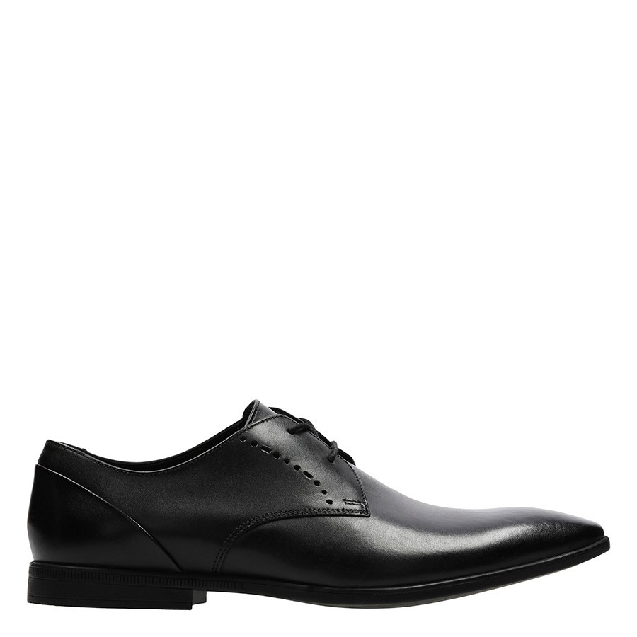 Shoe Warehouse Bampton Lace Black Leather