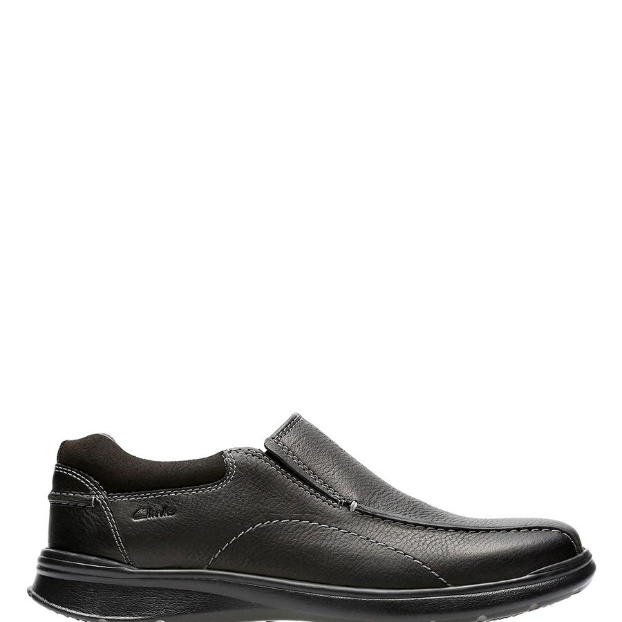 Shoe Warehouse Cotrell Step Black Oily Leather