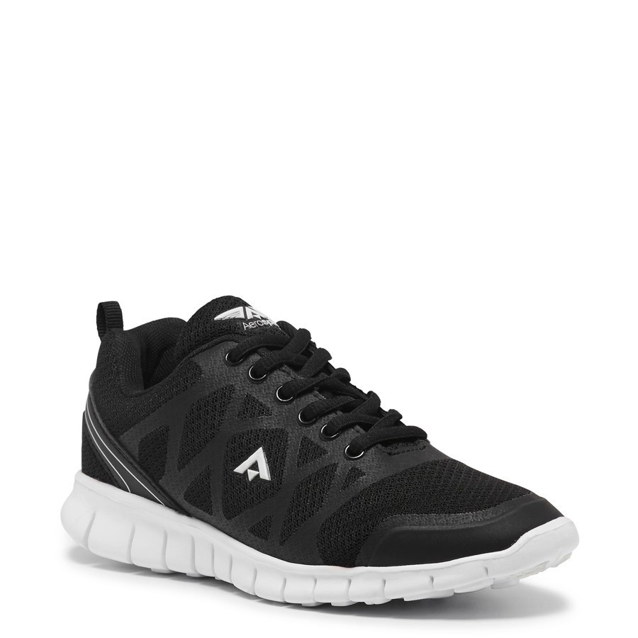 Shoe Warehouse Quick Womens Black/White