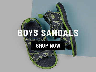 Boys Sandals Shop Now