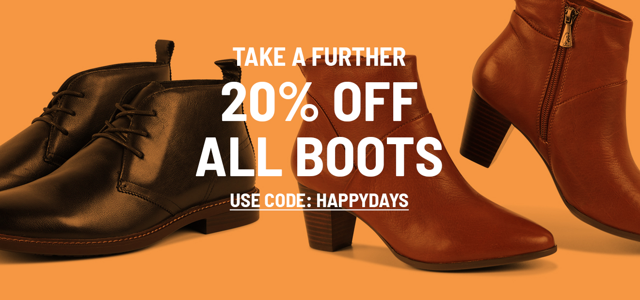 Take a Further 20% off Boots