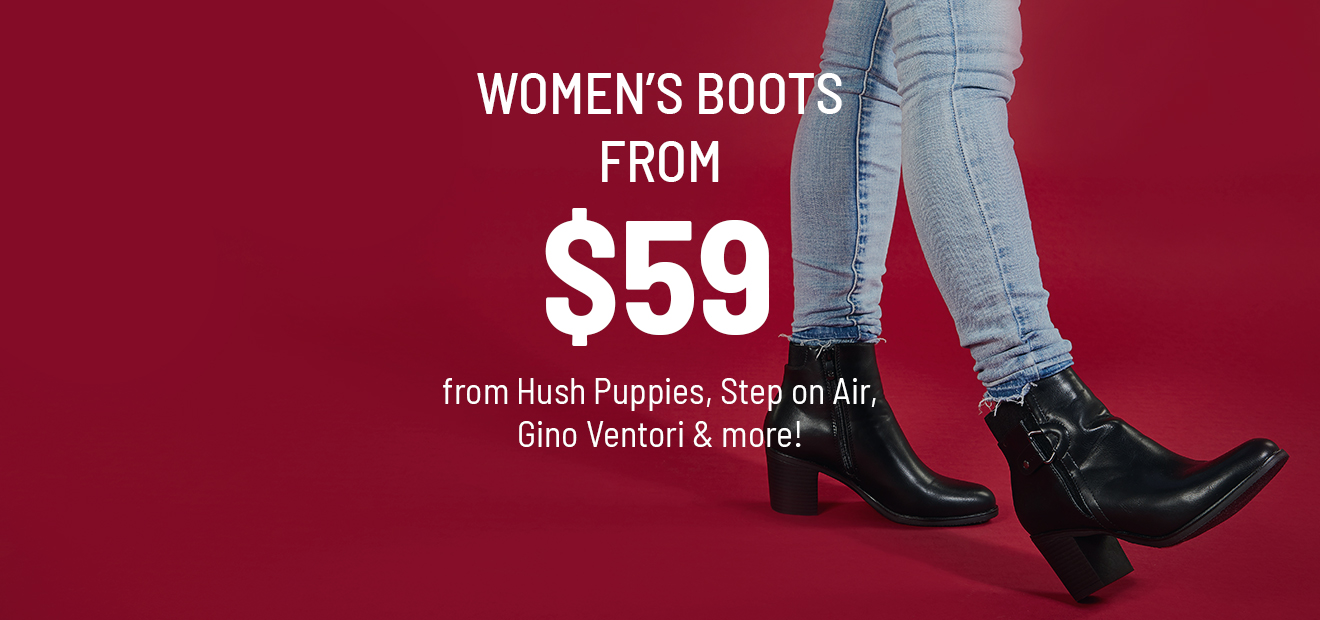 Women's Boots from $59