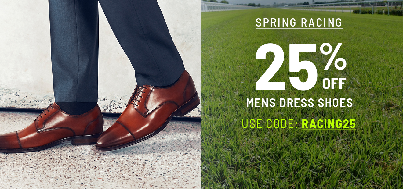 25% off Mens Dress Styles