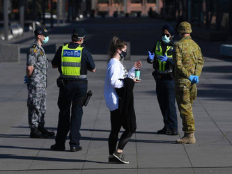 Enforced Masks Remain after Melbourne Lockdown
