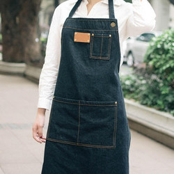 Denim aprons Making an Image in Australian Cafe Industry