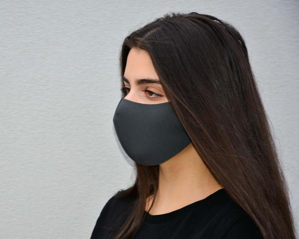 Fabric Masks -  Black, Grey & Navy Blue