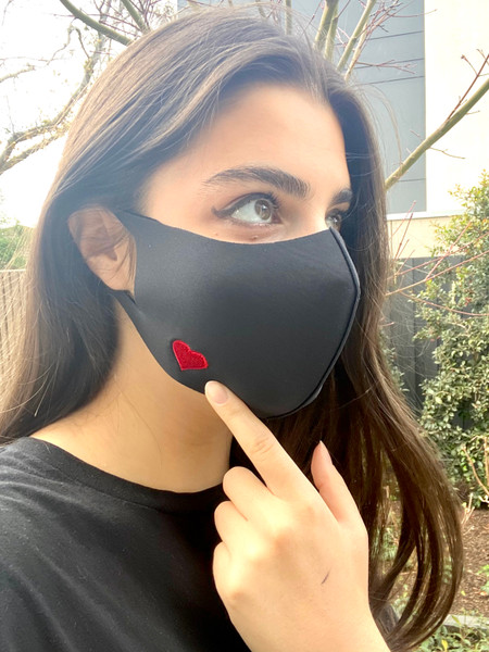 Love Heart Limited Edition Fabric Mask