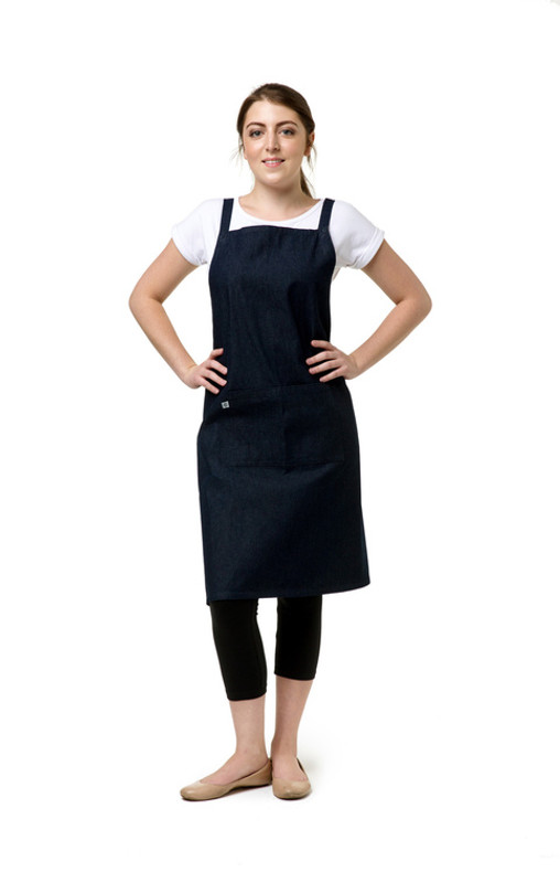Why have Denim Aprons in Australia Cafe?