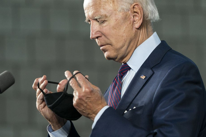 Biden Wants a National Face Mask Mandate. Can He Do That?