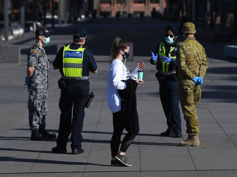 Enforced Masks Remain after Melbourne Lockdown